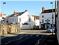 ST6390 : Zebra crossing, Quaker Lane, Thornbury by Jaggery