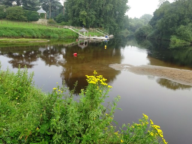 The Nidd meets the Ouse