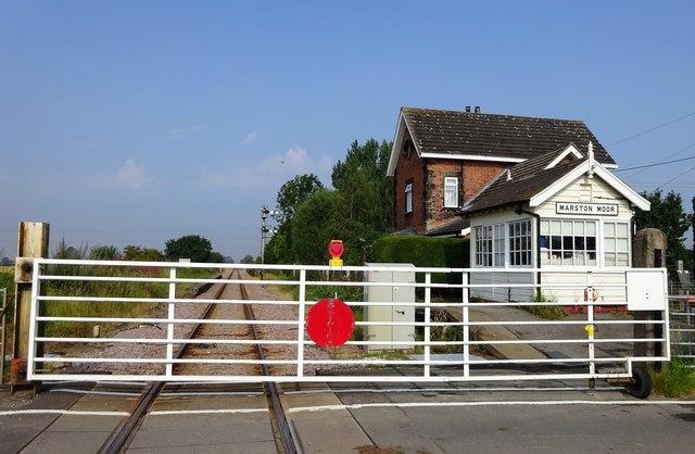 Level Crossing on Marston Lane