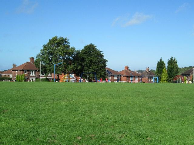 Playing field at Ball Green