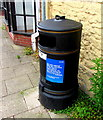 ST6390 : Council notice on a litter bin, The Plain, Thornbury  by Jaggery