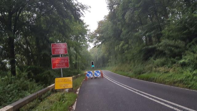 A40 roadworks