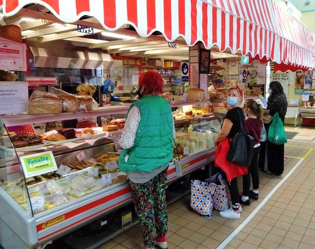 'Ham Corner' Todmorden Indoor Market