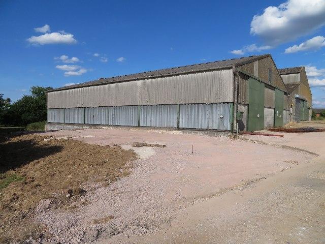 Minor building work at Breach Farm by Sandy B