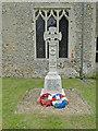 TM1690 : Great Moulton War Memorial by Adrian S Pye