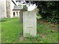 TG3103 : Private Arthur Carr, in Hellington churchyard by Adrian S Pye