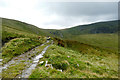 SH7165 : Track to Melynllyn reservoir by Andy Waddington