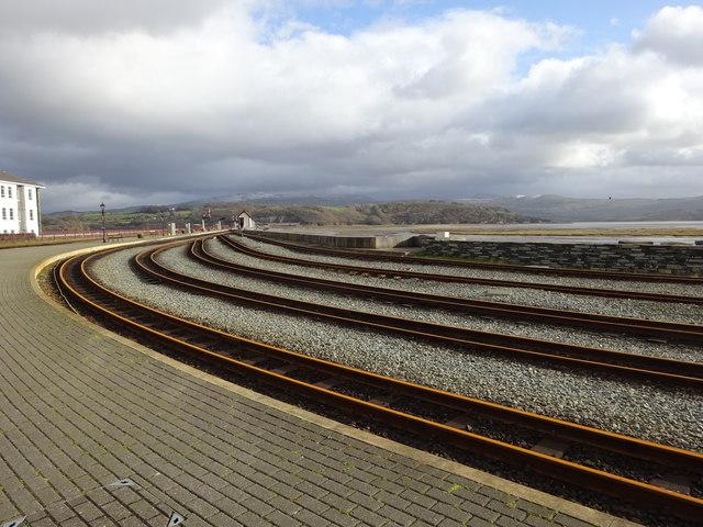 Ffestiniog railway, Porthmadog