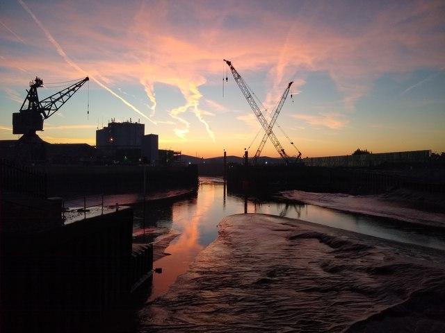 Boston Haven and Docks