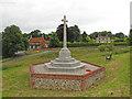 TM2499 : Shotesham All Saints War Memorial by Adrian S Pye