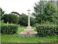 TM1698 : Wreningham War Memorial by Adrian S Pye