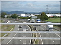 ST5583 : The M49, looking north from junction 1 by David Purchase