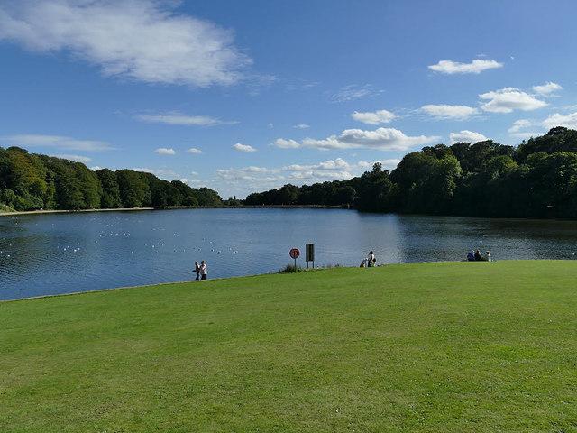 Waterloo Lake, Roundhay Park
