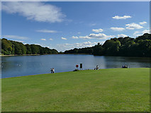 SE3337 : Waterloo Lake, Roundhay Park by Stephen Craven