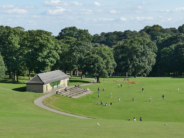 Cricket pavilion, Roundhay Park