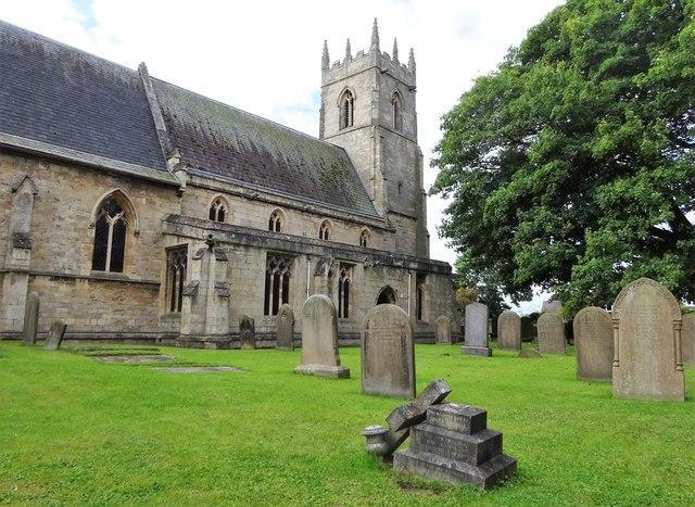 Parish church, Barnby Dun