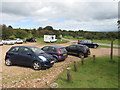 ST1537 : Car park at Crowcombe Park Gate by Malc McDonald