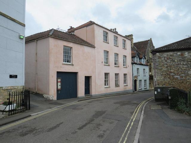 West Street and High Street, Axbridge