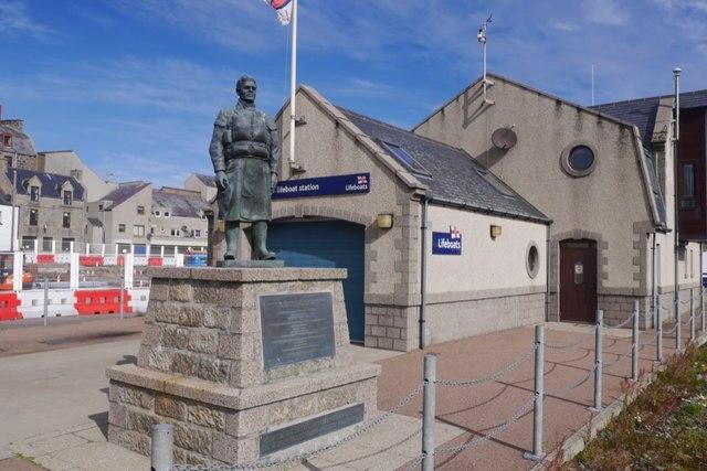 Memorial and Lifeboat Station, Fraserburgh