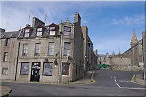 NJ9967 : Oak Tree Bar and Kirk Brae, Fraserburgh by Richard Webb
