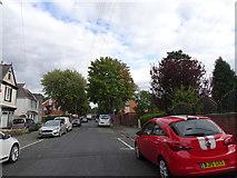 SO9096 : Woodfield Avenue Scene by Gordon Griffiths