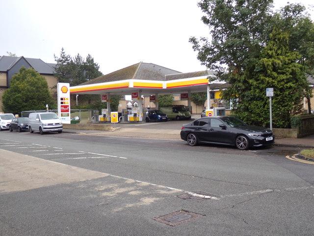 Shell Fuel Filling Station