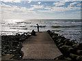 SD1770 : Slipway at West Shore by David Dixon