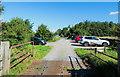 NY5858 : RSPB car park for Geltsdale reserve by Trevor Littlewood