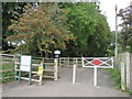 ST4157 : Old Station Green, Winscombe by Malc McDonald