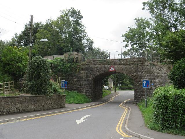Former railway bridge, Winscombe