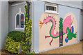 TQ2450 : Murals, 31 West Street by Ian Capper