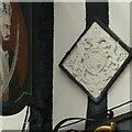 SK7053 : The Saracen's Head, Southwell, detail by Alan Murray-Rust