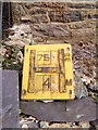 SH6267 : Hydrant marker on Cilfodan Terrace, Bethesda by Meirion