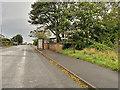SD2366 : Bus Stop on Roa Island Road by David Dixon