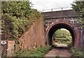 TQ3228 : Railway Bridge near Borde Hill Lane by PAUL FARMER