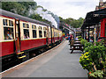 SD3484 : Lakeside and Haverthwaite Railway, Haverthwaite Station by David Dixon