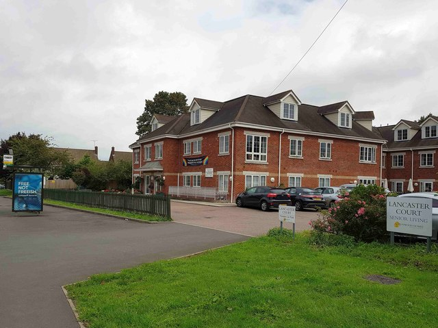 Watford: Lancaster Court care home - site of the former Hare PH
