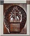 TG2705 : Whitlingham War Memorial by Adrian S Pye