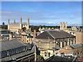 TL4458 : The rooftops of Cambridge by Richard Humphrey