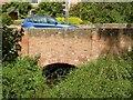SK7053 : Potwell Dyke bridge, Church Street, Southwell by Alan Murray-Rust