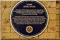SE5951 : York Zero Post plaque by N Chadwick
