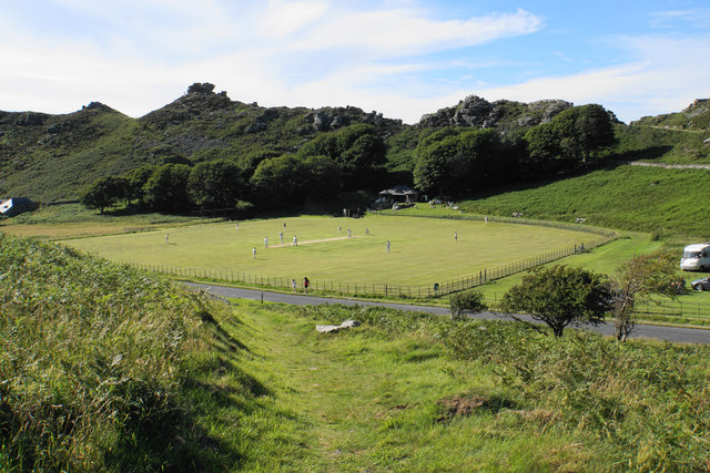 Cricket in The Valley of Rocks