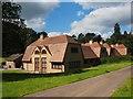 SJ9682 : Chestnut Cottages, Lyme Park by Graham Hogg