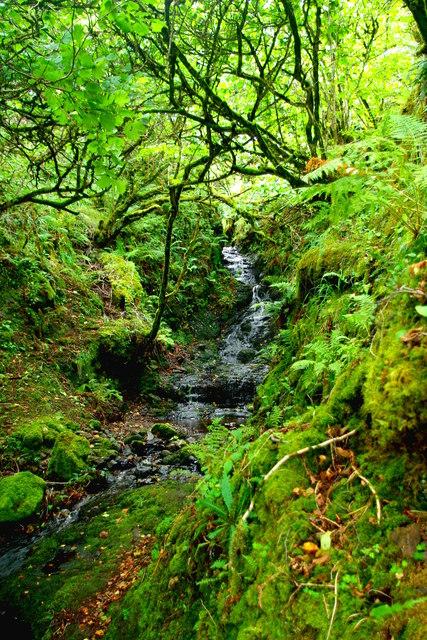 Cascade at Upper Colbost