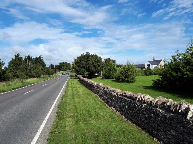 Approaching Whitehills Farm