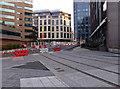 SP0787 : New tram lines by Snow Hill, Birmingham by Chris Allen