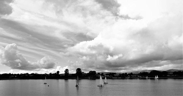 Sailing on Hollingworth Lake