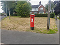 SJ8445 : George V Post Box (1901-1936), Westlands by Brian Deegan