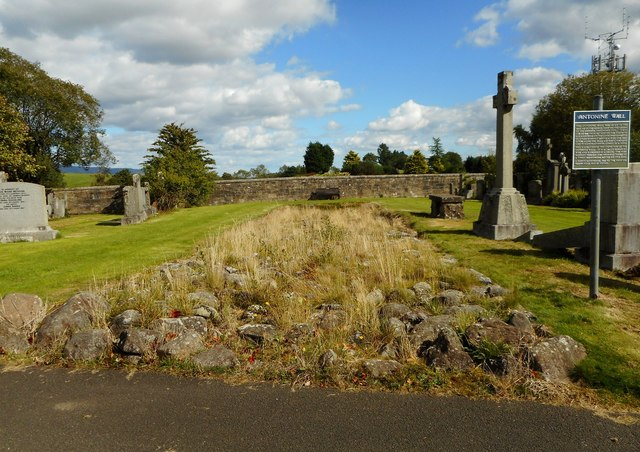 Part of the Antonine Wall