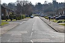TQ5737 : Ramslye Rd by N Chadwick